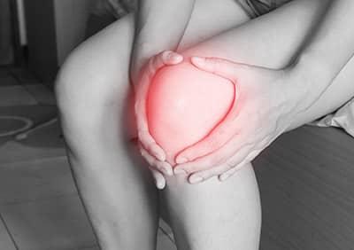 joelho lesionado
